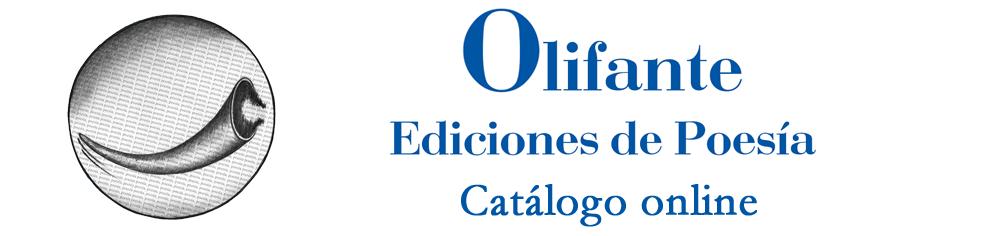 Olifante Ediciones de Poesía · Catálogo