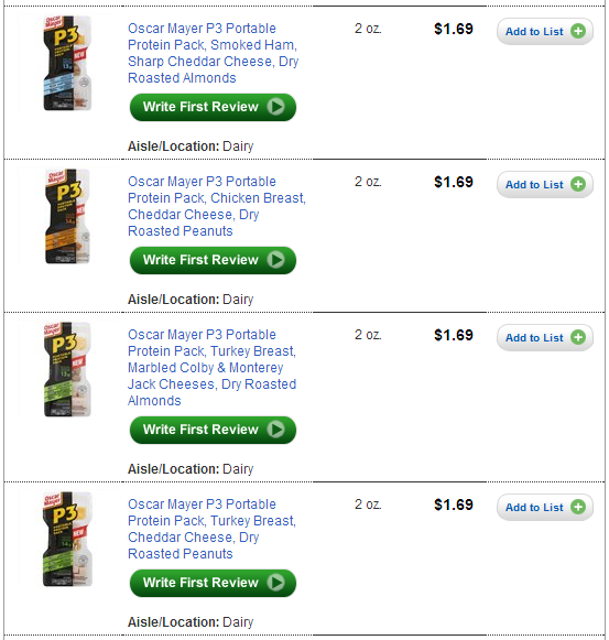 Oscar Mayer P3 Protein Pack Coupon Go Packs 1 Walmart furthermore Free Oscar Mayer P3 Protein Packs Starting Thursday Giant Eagle besides Target Nice Deals On Bear Naked Bars Oscar Mayer P3 Protein Power Packs After Cartwheels Coupons additionally Cheap Oscar Mayer Portable Protein Packs in addition New P3 Portable Protein Pack Coupons Just 88 c2 a2 At Kroger. on oscar mayer protein pack coupon
