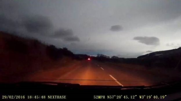 Night turns to day in Scotland: Meteor over Aberdeenshire caught on camera