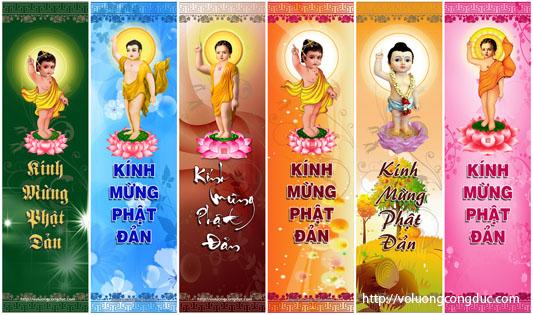 Panô đừng Phật đản - voluongcongduc.com