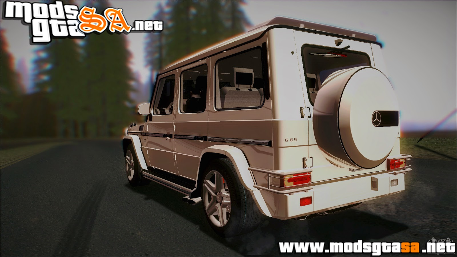 SA - Mercedes-Benz G65 2013 AMG Body