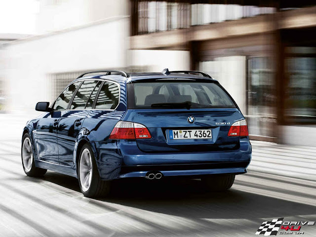 BMW 5 new picture