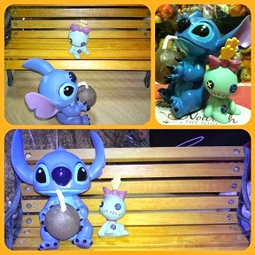 Kato Kogei Garden Chair Stitch + Scrump Figures