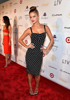Nina Agdal at Club Sports Illustrated Swimsuit At LIV Nightclub Fontainebleau Miami Beach