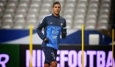 Manchester United and Chelsea chasing Raphael Varane