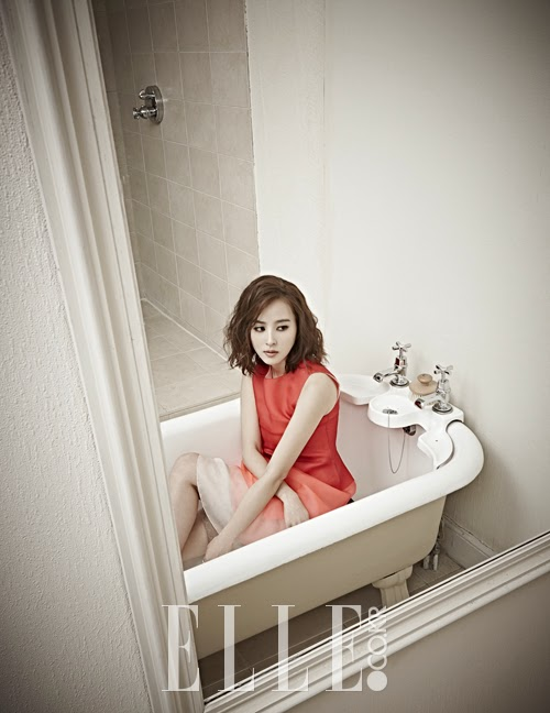 Han Hye Jin - Elle Magazine April Issue 2014