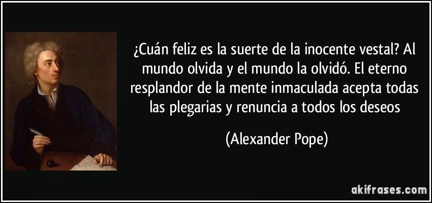 Alexander pope eternal sunshine