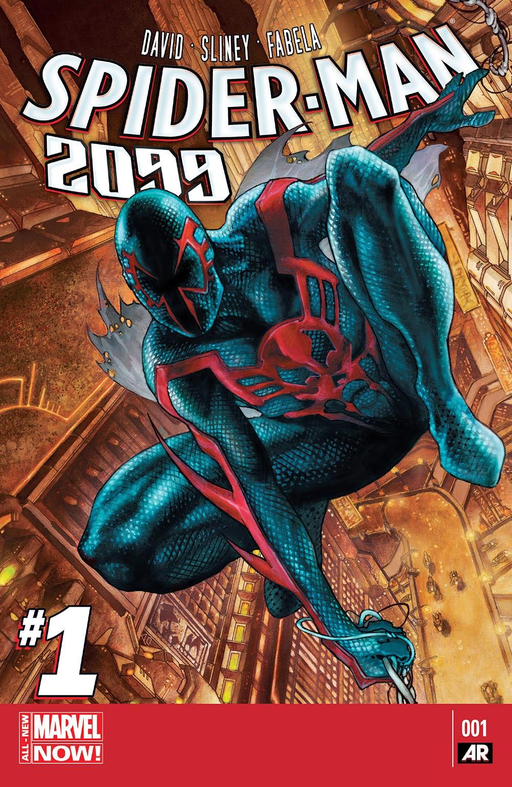 Spider man 2099 v2 001 2014