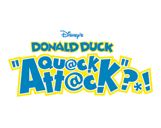 Donald Duck Quack Attack title screen