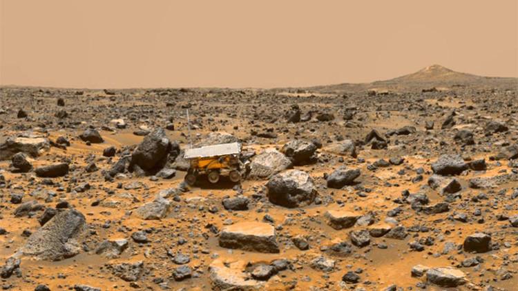 Niebla ácida en Marte