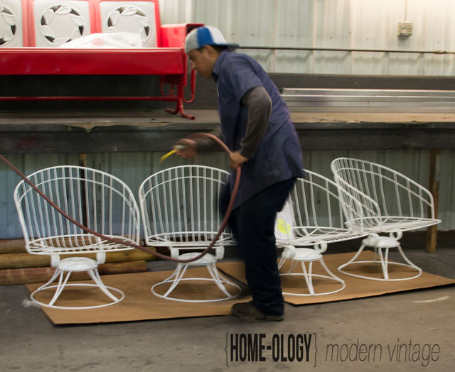 powder coating #outdoor furniture #homecrest