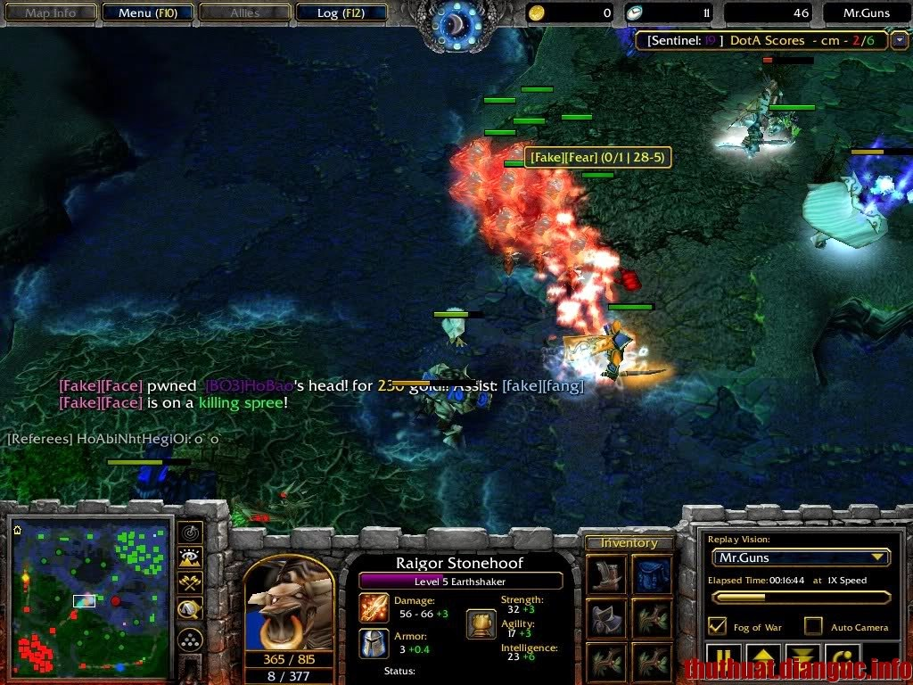 Patch de Warcraft III : The Frozen Throne v124e