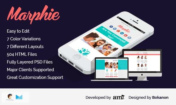 Marphie – Business Responsive Email Template