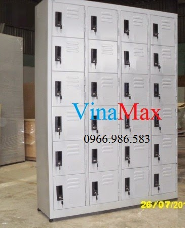 Tủ locker 24 ngăn, tủ locker giá rẻ, tủ đựng đồ cá nhân, tủ sắt đựng đồ, tủ sắt văn phòng