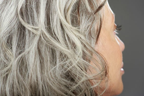 Cover Gray Hair Roots Temporarily Without Dye Okay Pure Naturals