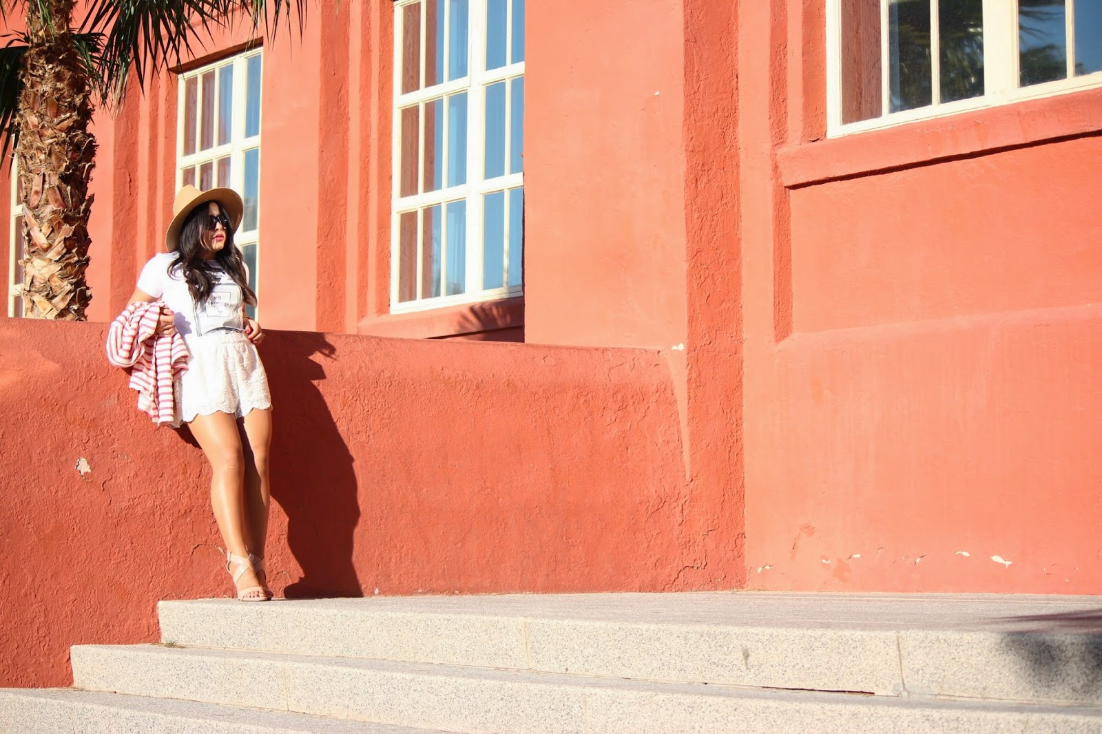 las vegas fashion blogger, las vegas style, what to wear to vegas, how to wear a peplum