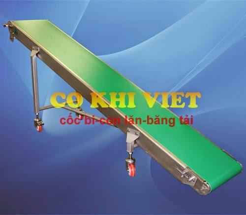 Băng tải PVC cơ khí Việt