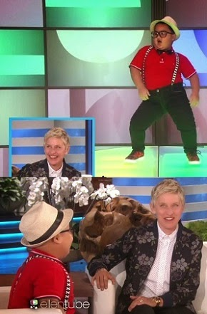 JOHN  PHILIP  BUGHAW,  6-YEAR-OLD  PINOY  KID, AMAZES  ELLEN!