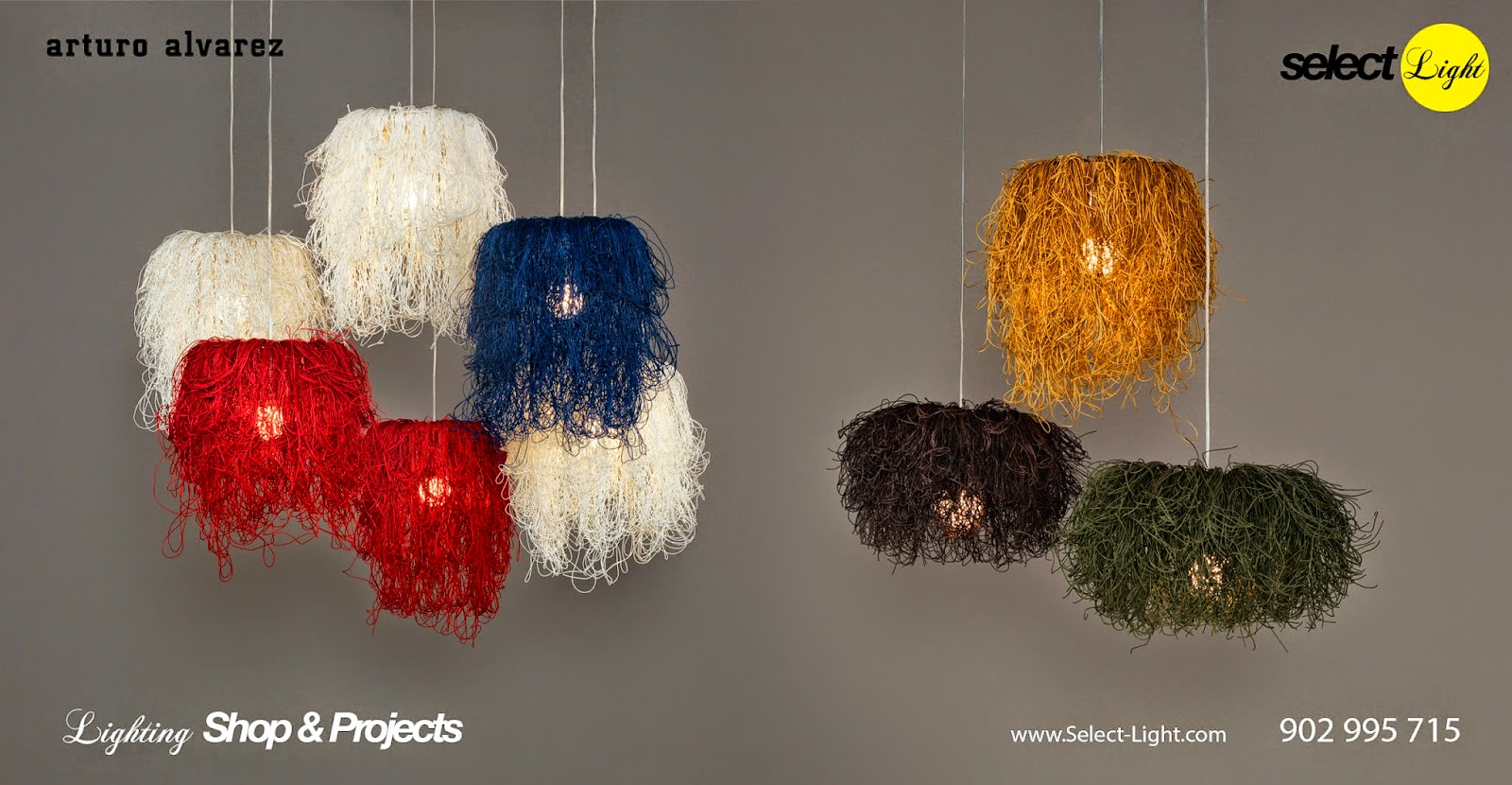 Caos Lamp - designer Arturo Álvarez