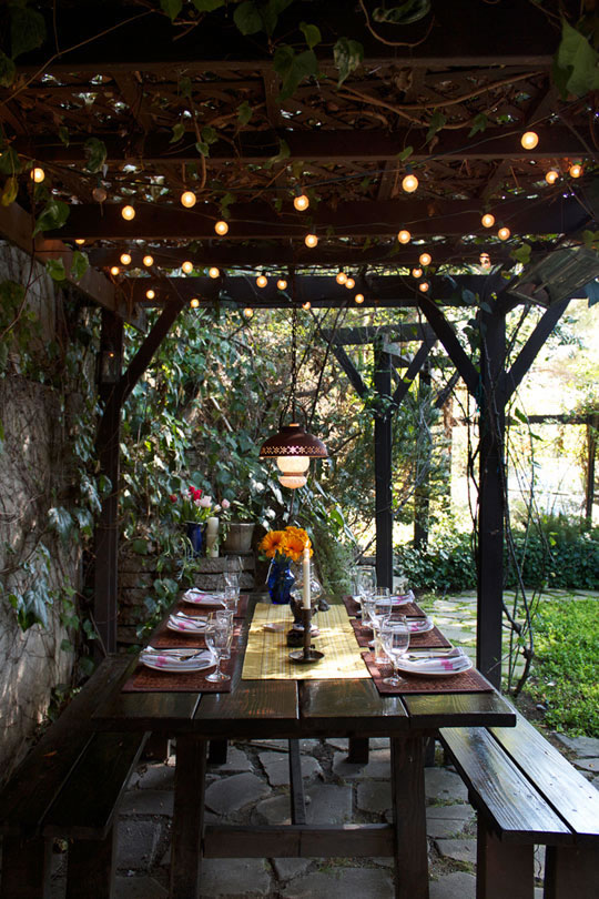 So this will have to wait until spring. However that gives us plenty of  time to consider our options. Vine-draped pergolas have me drooling. - In The Little Yellow House: Pergola Ideas: Vines For Spring