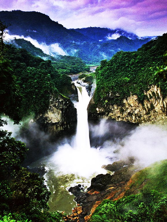 Download image Brazil Amazon Rainforest Waterfall PC, Android, iPhone ...