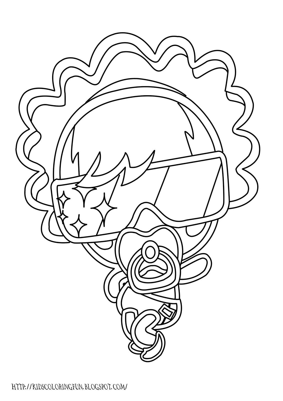 Moshling Monster Coloring Pages Lady Goo Goo Learn To Moshling Colouring Pages