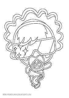 Moshling Monster Coloring Pages