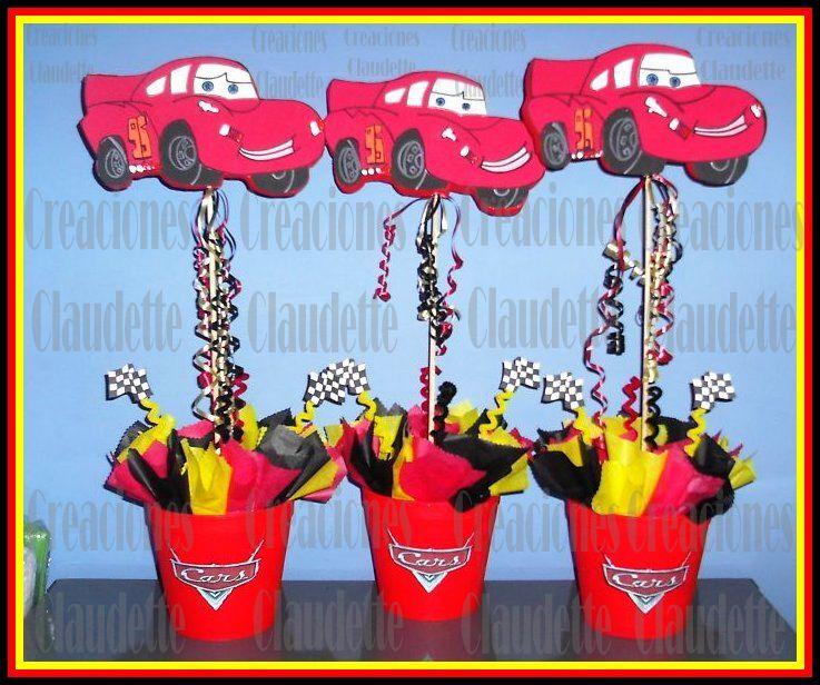 rincon de fiestas.ch: Decoración de fiestas infantiles de Cars