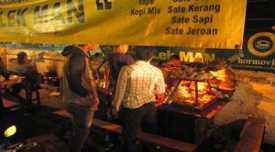Angkringan Lek Man, Yogyakarta