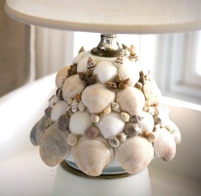 small shell lamp