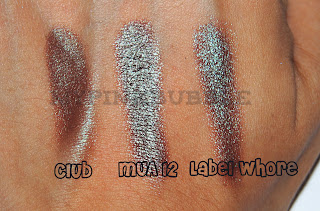 Sombra MUA shade número  12 pearl club mac label whore urbandecay