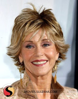 Celebrity Jane Fonda Hairstyle Ideas for Women