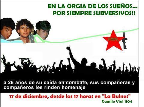 COQUIMBO:  EN LA ORGÍA DE LOS SUEÑOS... POR SIEMPRE SUBVERSIVOS!!