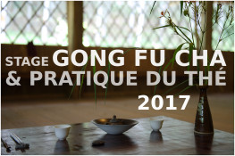 NEW:Stage thé et gong fu cha 2017!