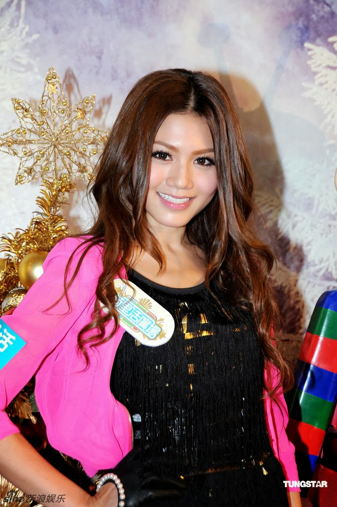 beautiful actress Chrissie Chau