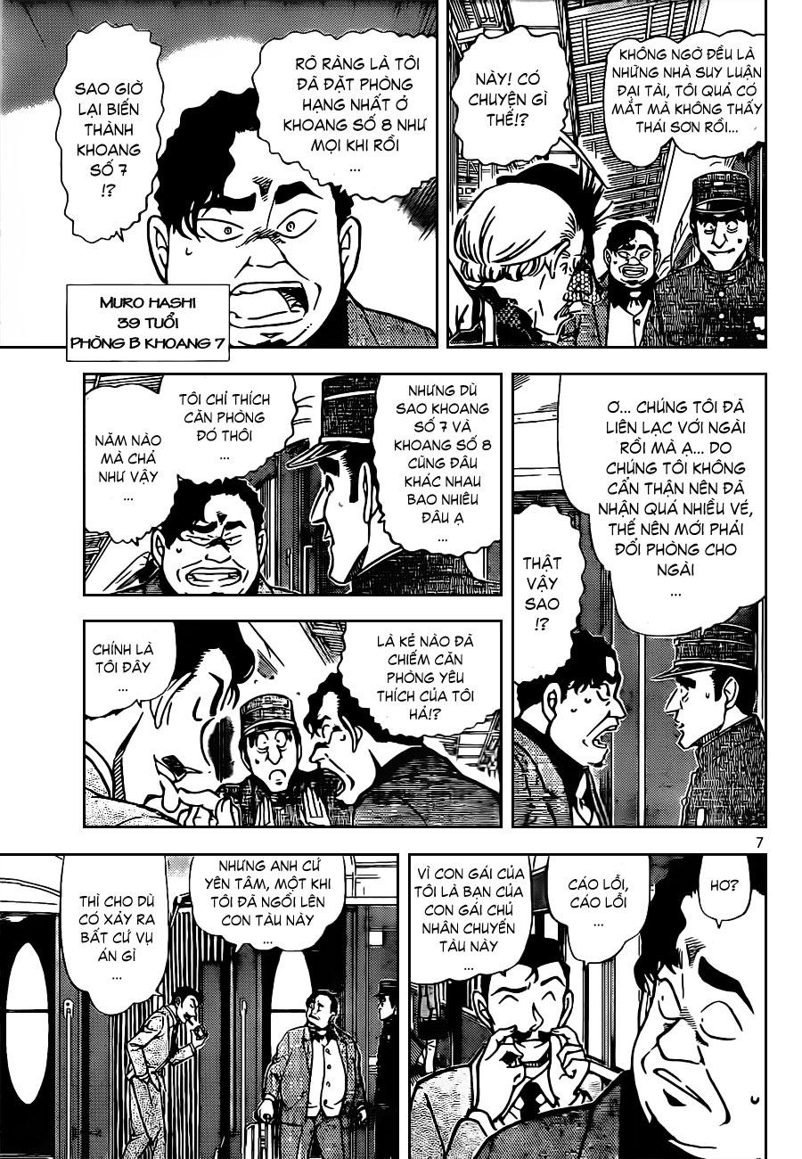 Thám Tử Lừng Danh Conan - Chapter 818 - Pic 8
