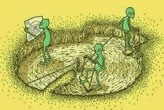Και  για  τους Κύκλους -  Crop circles