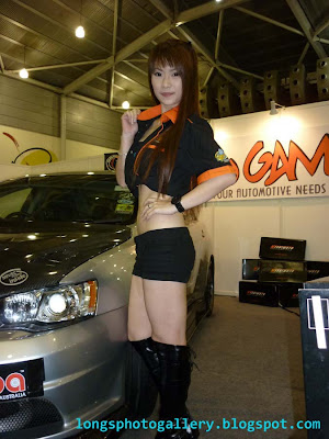 asia autosalon Singapore race queens