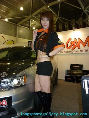 asia autosalon Singapore race queens