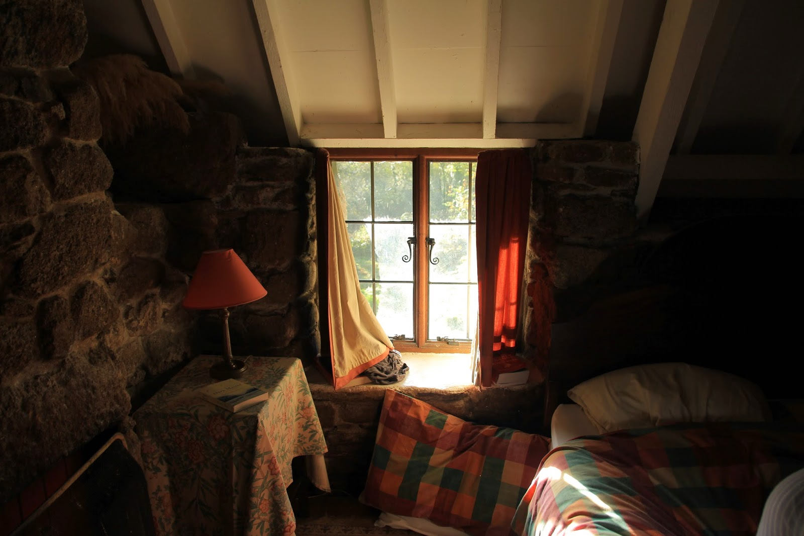 Pretty cottage window. Photo by A Handmade Cottae