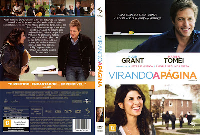 Capa DVD Virando A Página
