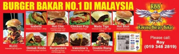 Rawang Burger Bakar ( Mersing )