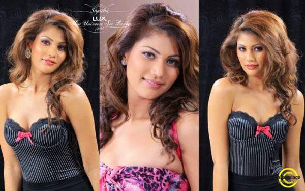 Sabrina Herft - Miss Universe Sri Lanka 2012 Profile Pictures