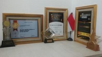 Penghargaan Yang Kami Raih
