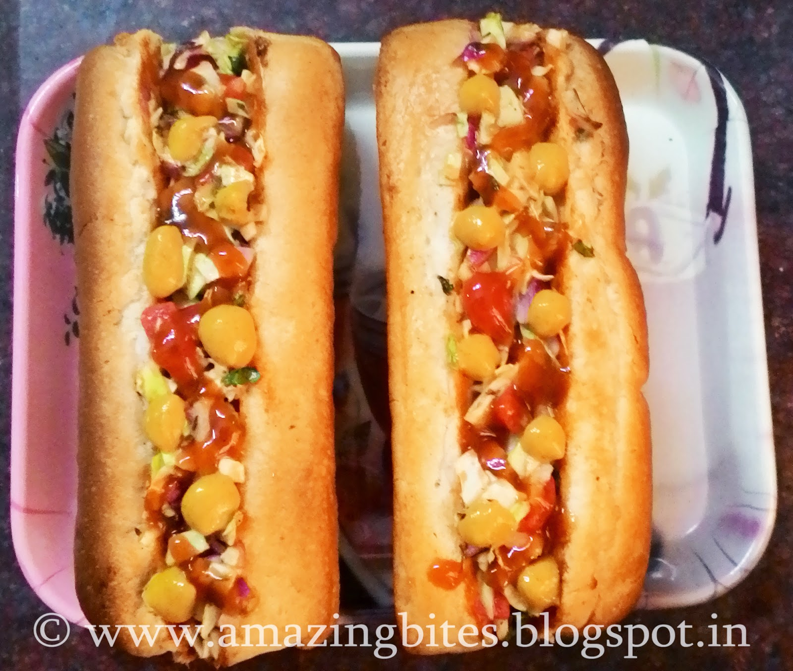 Thousand Island Veggie Hot Dog (Low Calorie)