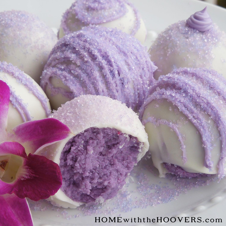 Chocolate Lavender Cake Mix