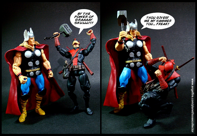 loosecollector custom action figures official website  deadpool noir