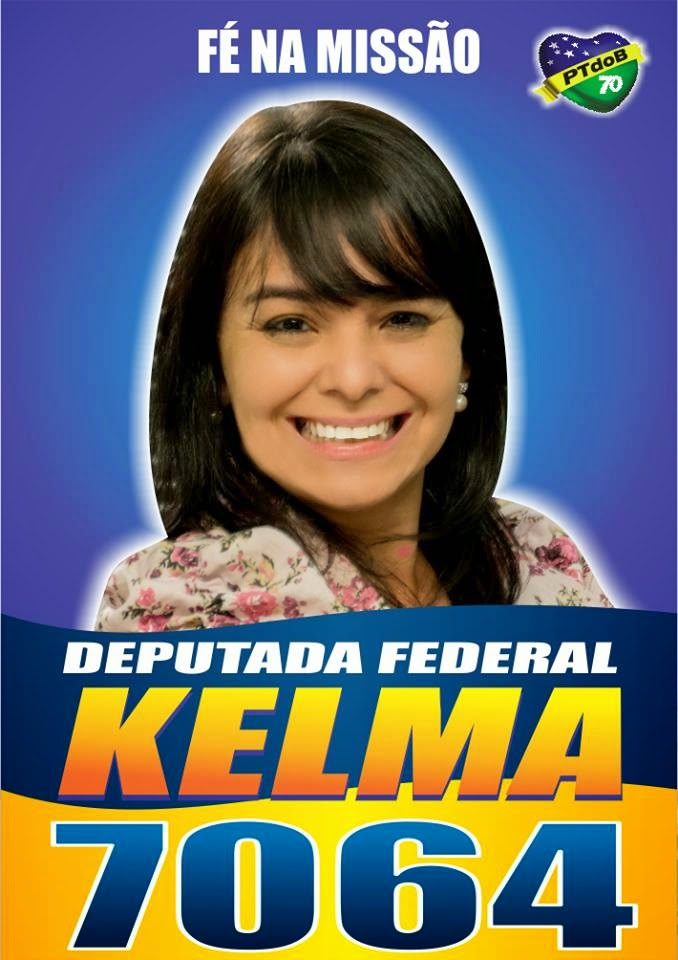 Kelma Costa p\ Dep. Federal - MG
