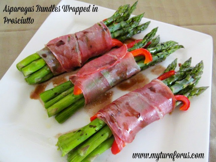 so many ways to prepare asparagus but these Roasted Asparagus Bundles ...
