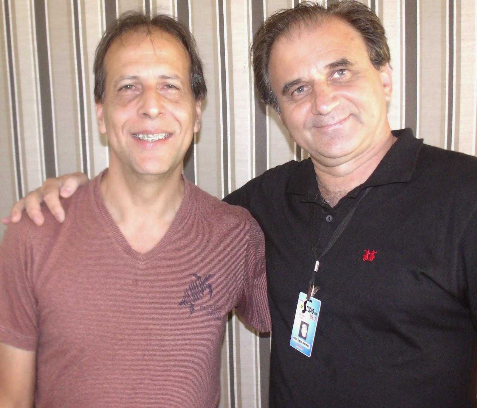 Airton Engster dos Santos e Deraldo Goulart